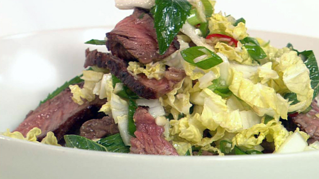 Lemongrass beef salad