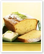Coconut, ginger and lime cake