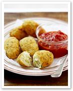 Potato and rice croquettes