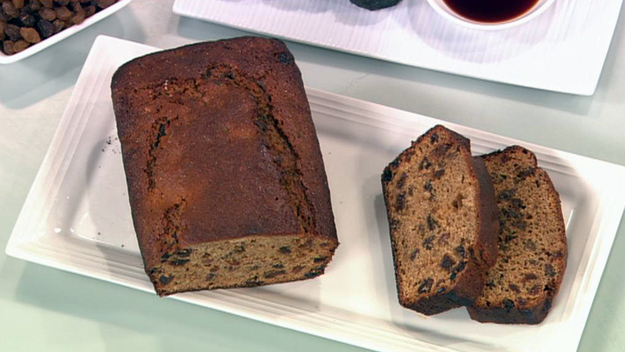 Tea infused fruit loaf
