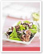 Marinated octopus salad