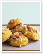 Savoury pumpkin scones