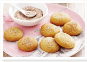Almond cinnamon biscuits