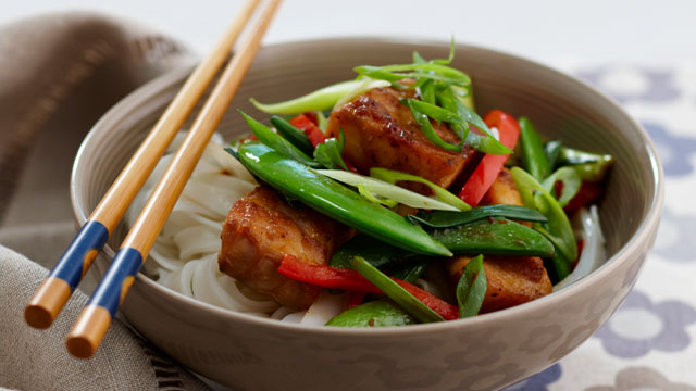 Korean fish stir-fry