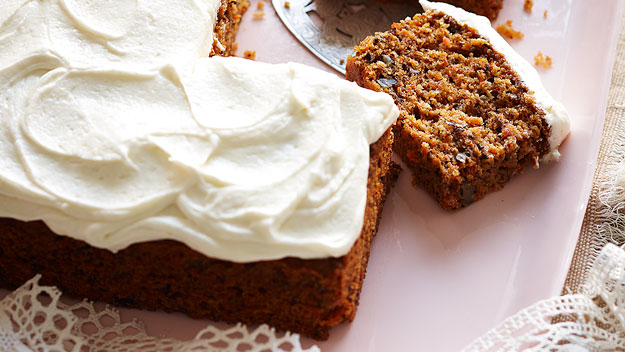 Julie's carrot cake