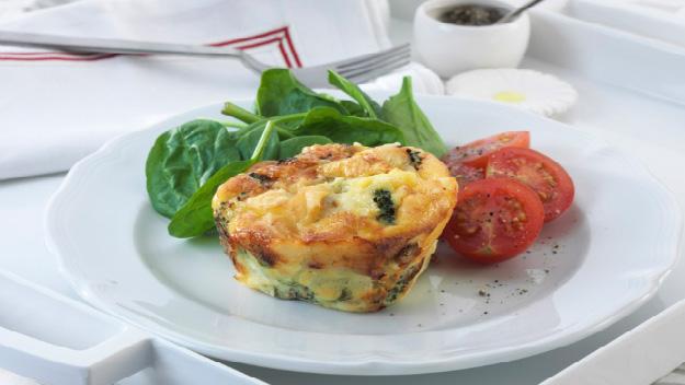 Brocollini Omelette