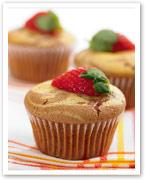 Marble berry choc muffins