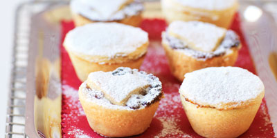 Orange mince pies