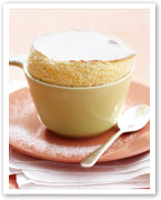 Warm citrus souffle