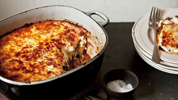Cheat's moussaka