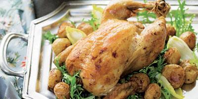 French roast chicken dinner