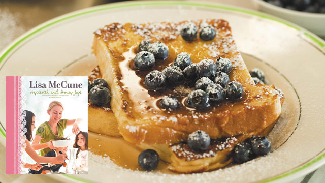 Lisa McCune's French toast recipe