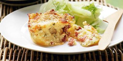 Italian potato cakes