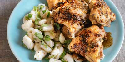 Parmesan chicken with balsamic sauce