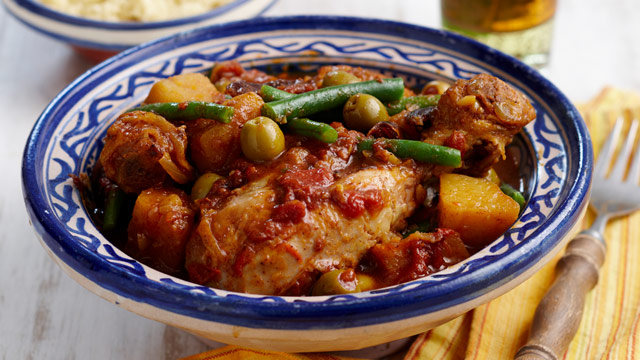 Tagine with couscous for $10