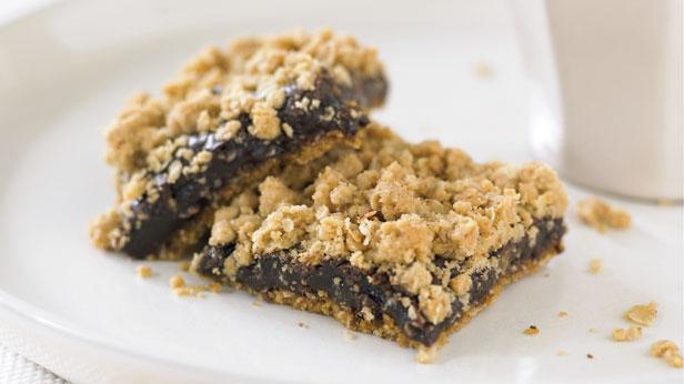 Chocolate crunch slice
