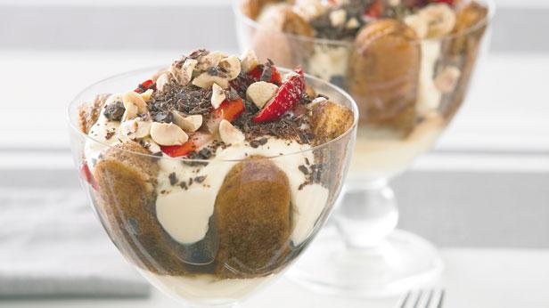Coffee berry trifles