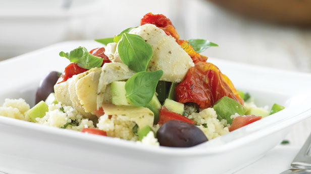 Couscous and vegetable salad