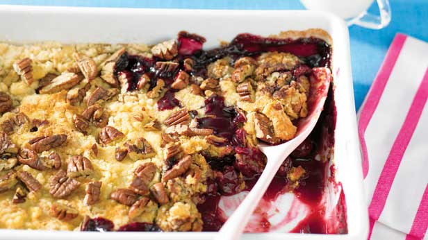 Cheats cherry crumble