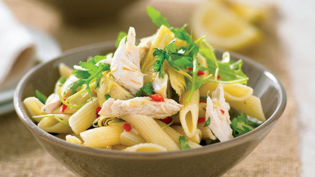 Chilli lemon and chicken pasta