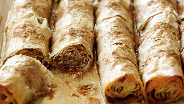 The Mediterranean diet: Baklava