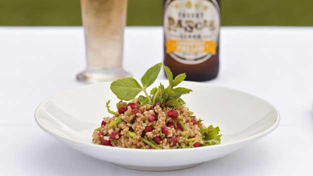 Farro and Pomegranate Summer Salad