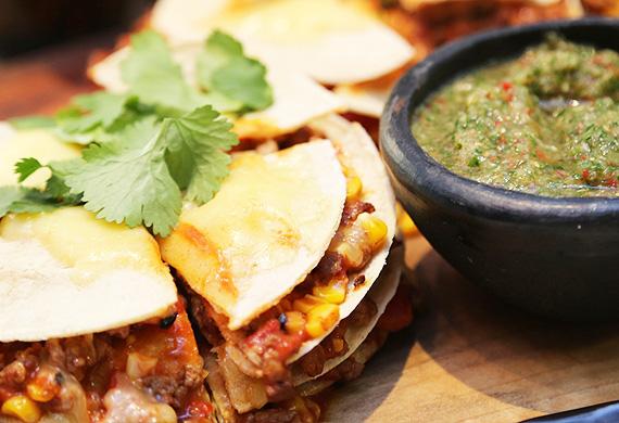 Mexican tortilla stack