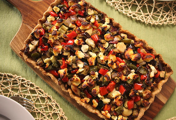 Lyndey Milan's Mediterranean vegetable pie