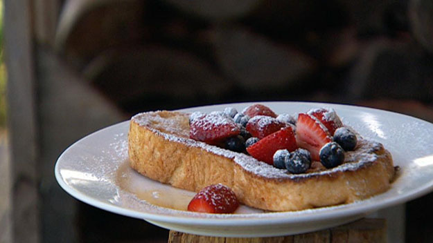 Barbecue French toast