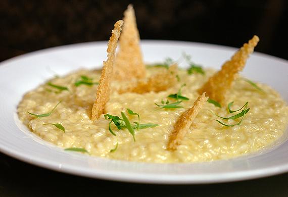 Aperitivo's risotto alla parmigiana