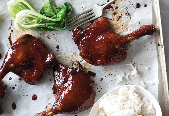 Monday Morning Cooking Club's glazed Asian duck