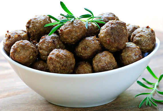 New Atkins spicy meatballs