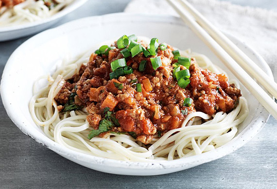 Chang's Asian-style spag bol