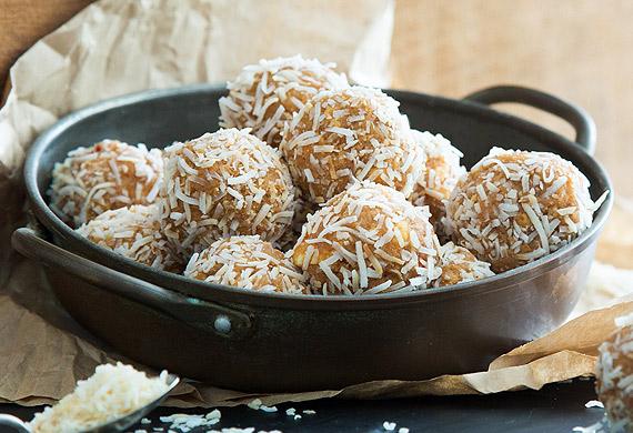 Chilli-salted caramel truffles