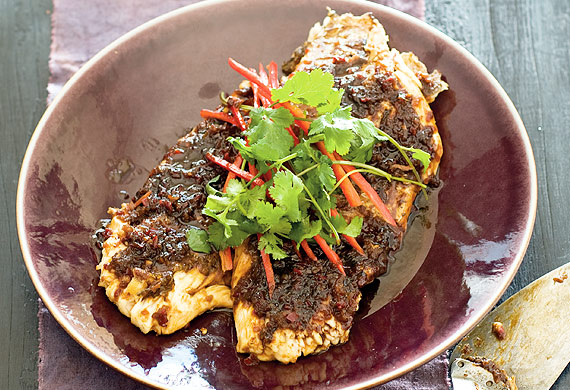 Monday Morning Cooking Club's Asian-style snapper