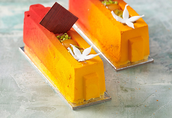 Gluten-free mango and coconut mousse