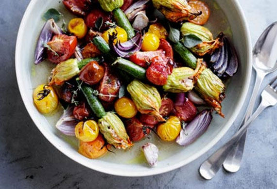 Zucchini flower recipes