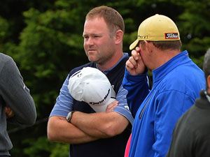 Alastair Forsyth following his caddie's death. (Getty)