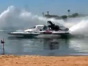 NITRO drag boat 'Problem Child'. (supplied)