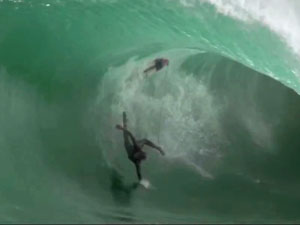 Big wave rider Scott Dennis. (supplied)