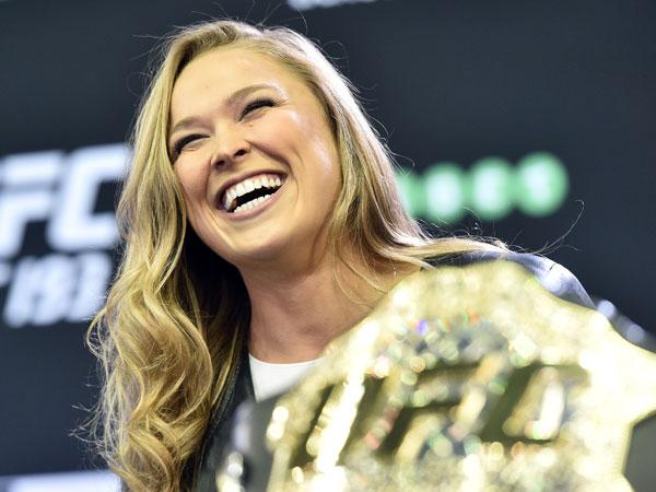 Ronda Rousey. (AAP)