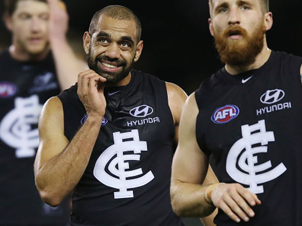 Former Carlton speedster Chris Yarran. (Getty)