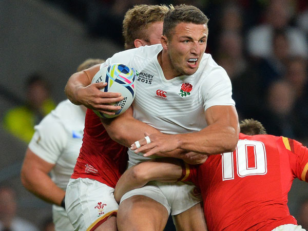 Sam Burgess. (AFP)