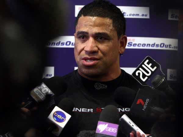 John Hopoate. (Getty)