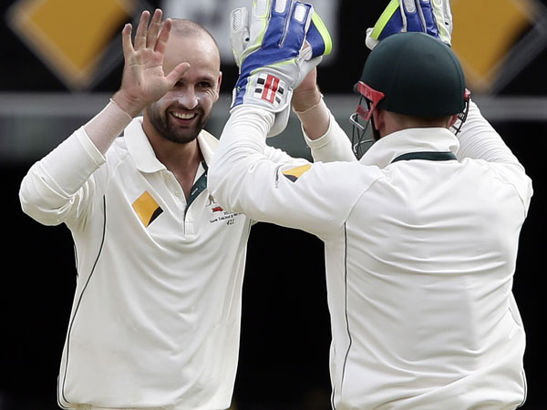 Offspinner Nathan Lyon. (AAP)
