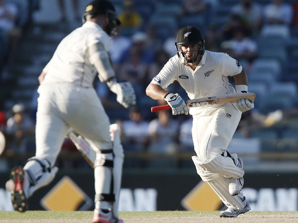 Ross Taylor led the Kiwis with a double-century. (AAP)