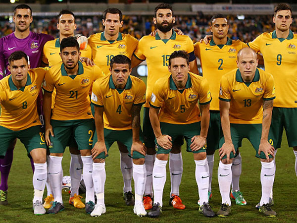 The Socceroos. (Getty)
