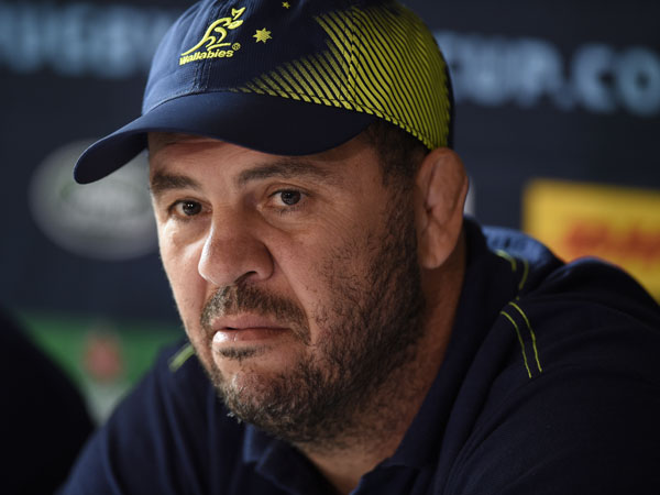 Wallabies coach Michael Cheika. (AFP)