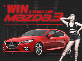 Mazda3 competition tile
