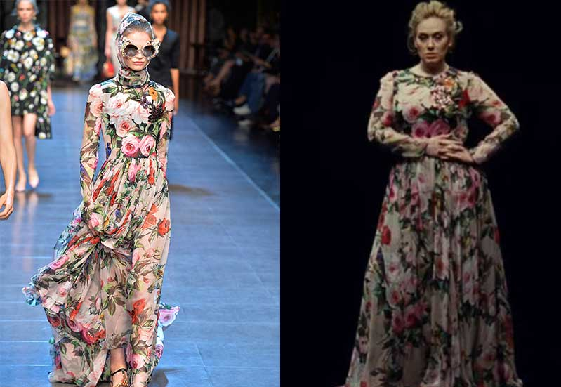 Adele, Beyonce and the rise of the revenge dress